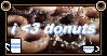 I Love Donuts Stamp by ACorgiInHumanClothin