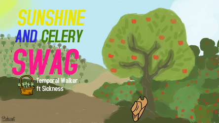 Sunshine and Celery Swag Cover