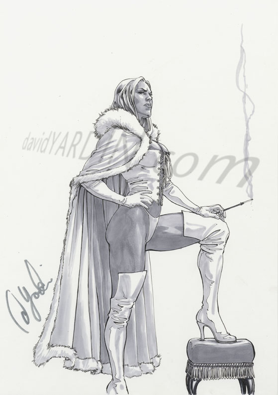 The White Queen by davidyardin