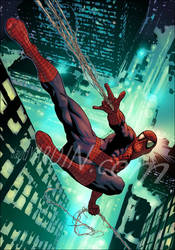 Spider-Man by davidyardin