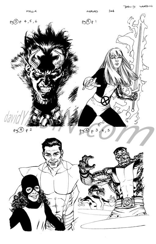 X-Men: DWS 2 - Magik Overlays by davidyardin