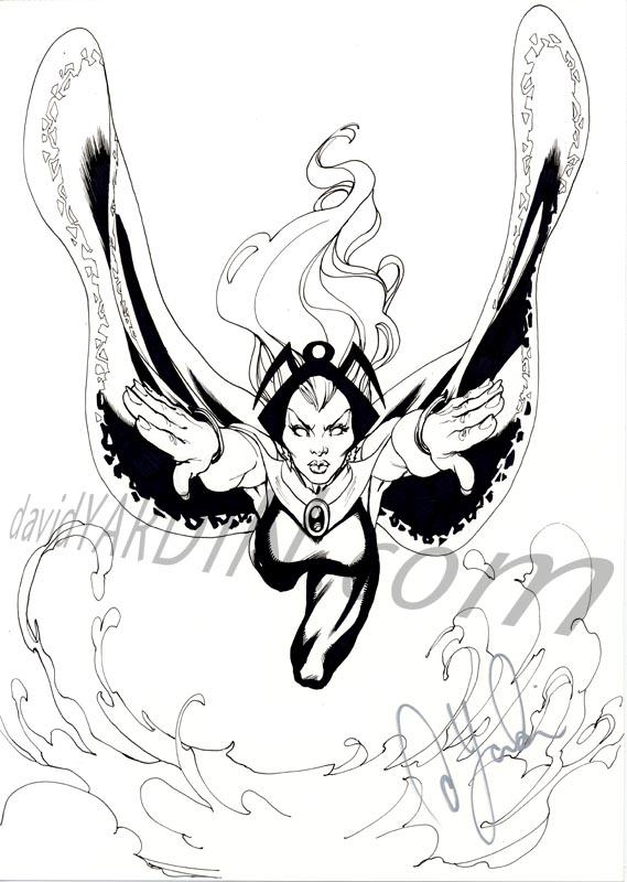 Another Storm Sketch by davidyardin