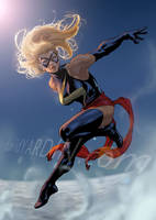 Ms Marvel by davidyardin