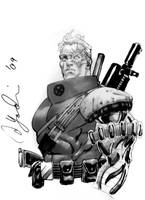 Cable Con Sketch by davidyardin