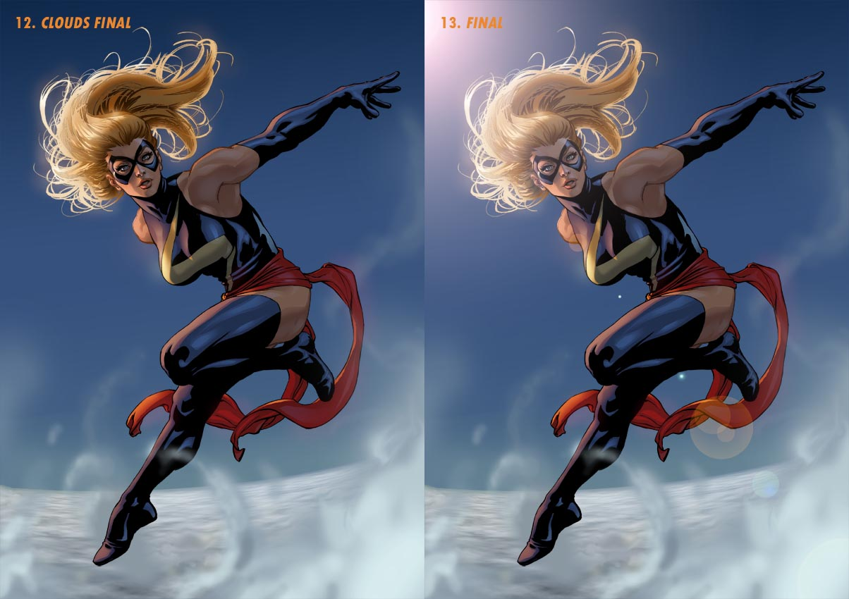 Ms Marvel Steps 12 + 13 by davidyardin