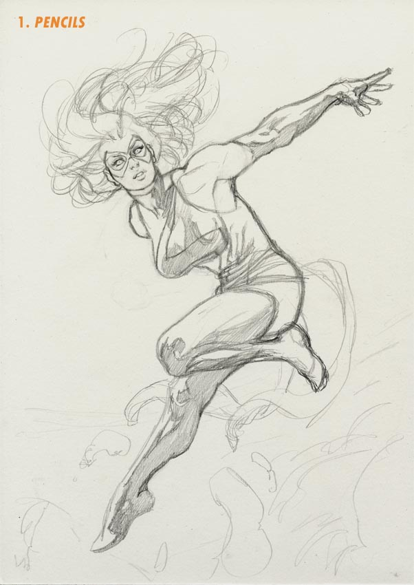 Ms Marvel Step 1 by davidyardin