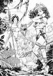 Storm and Rogue Savage Land