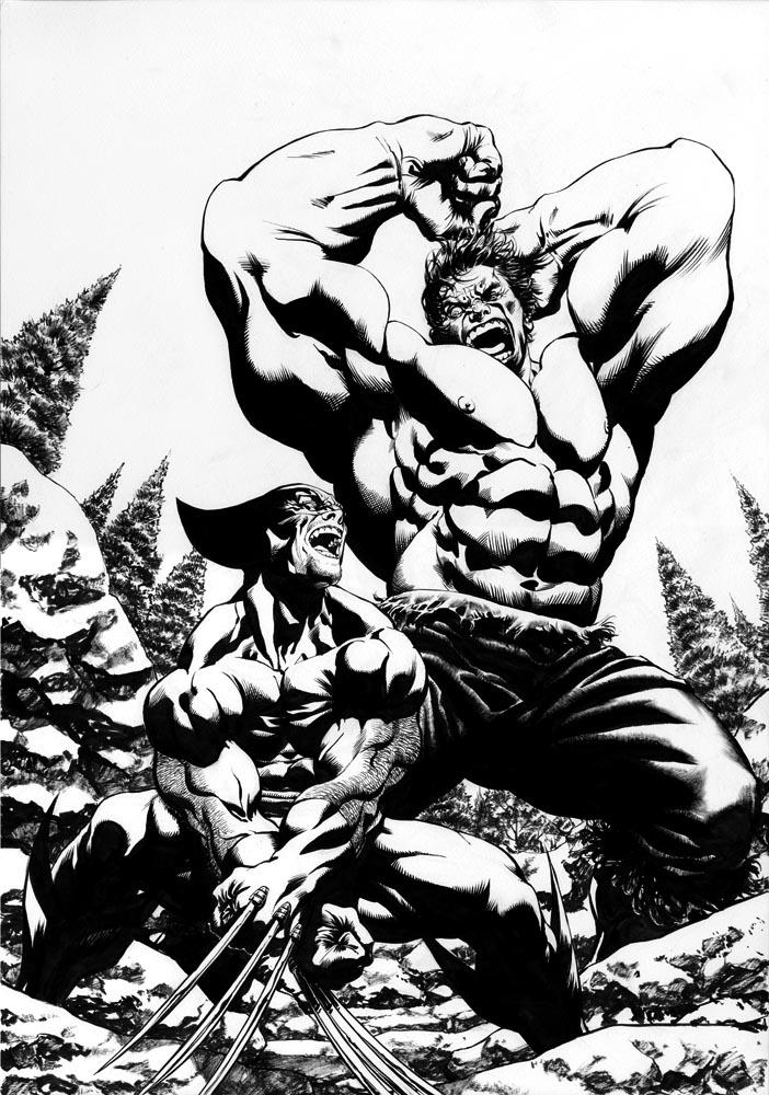 Wolverine Vs Hulk By Davidyardin On Deviantart