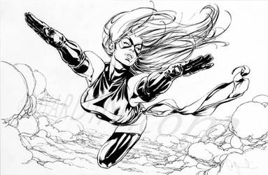 Ms Marvel Commission by davidyardin