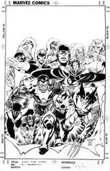 Giant Size X-Men 1 Recreation by davidyardin