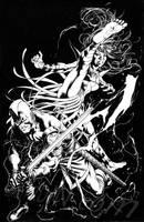 Swordsman Mantis by davidyardin