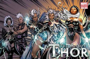 X-Men Evolutions Variant Storm by davidyardin