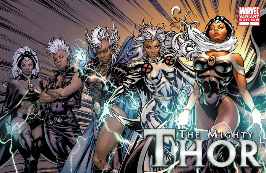 X-Men Evolutions Variant Storm