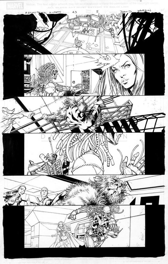 Astonishing X-Men 43 page 5 by davidyardin