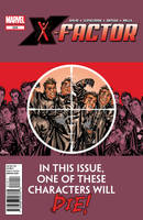 X-Factor 229 Cover by davidyardin