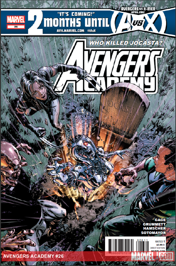 Avengers Academy 26 by davidyardin