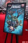 Custom Designed Avengers Movie Poster Auction