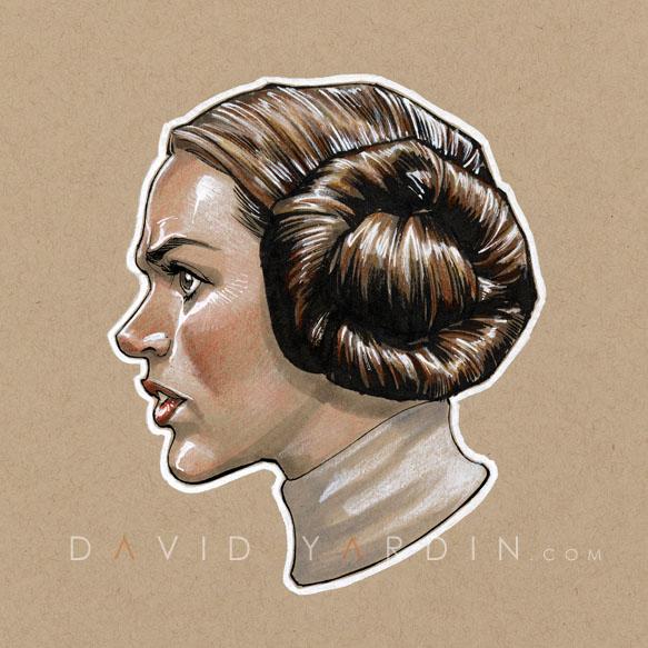 Princess Leia by davidyardin