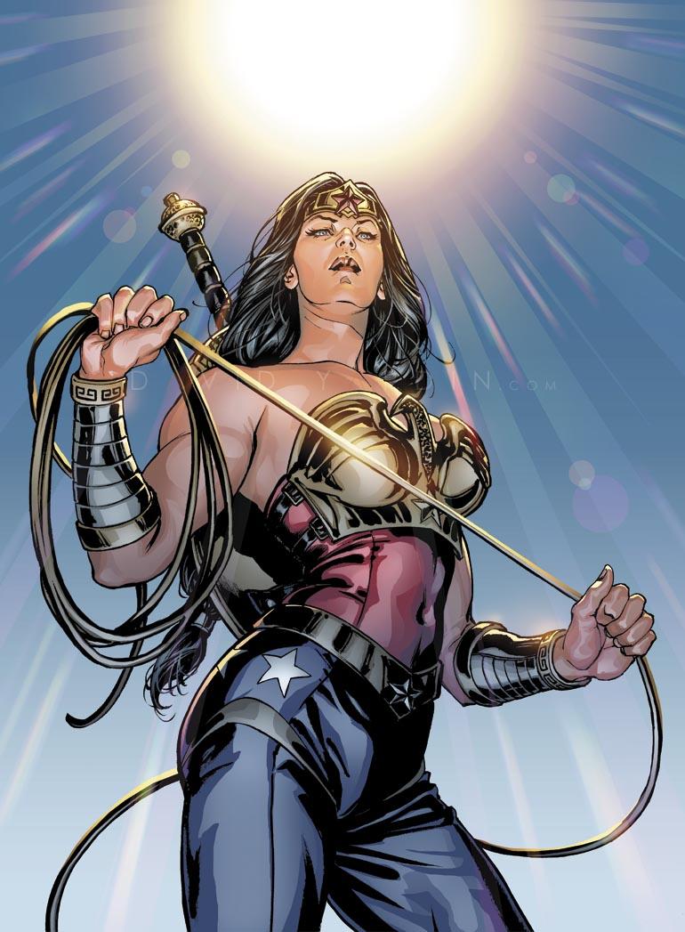 Wonder Woman Injustice by davidyardin