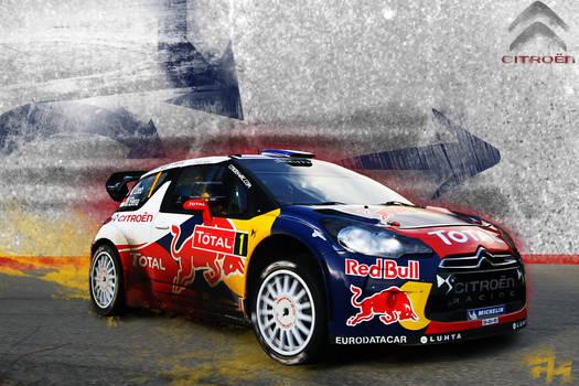 Citroen DS3 WRC Fan art