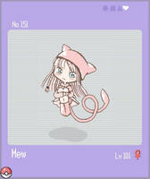 PKMN.151 - Mew by sobrinhatun
