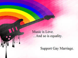 Support Gay Marriage by GreenDayGirl18
