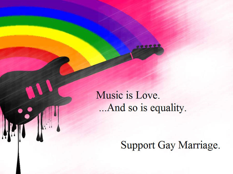 support of gay dating and marriage