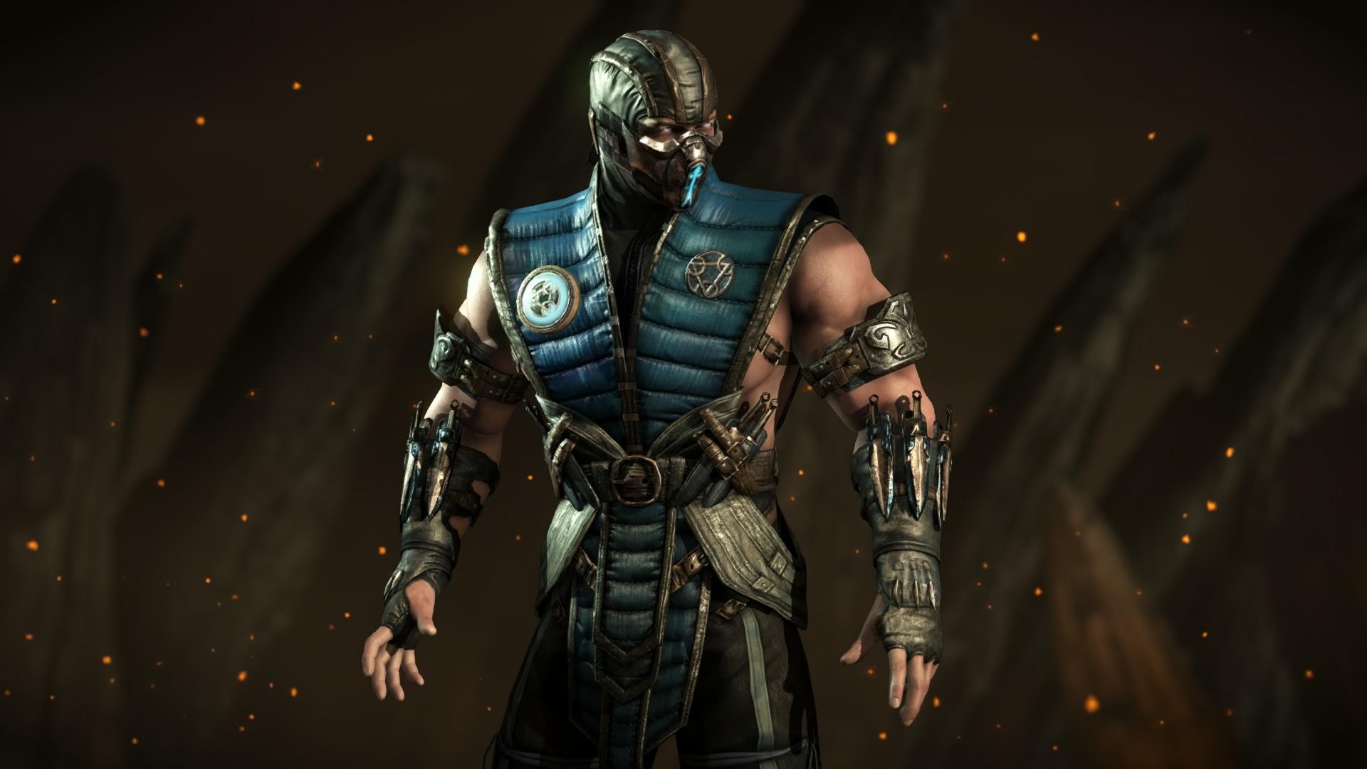 Mortal Kombat X Sub Zero By Kabukiart157 On Deviantart
