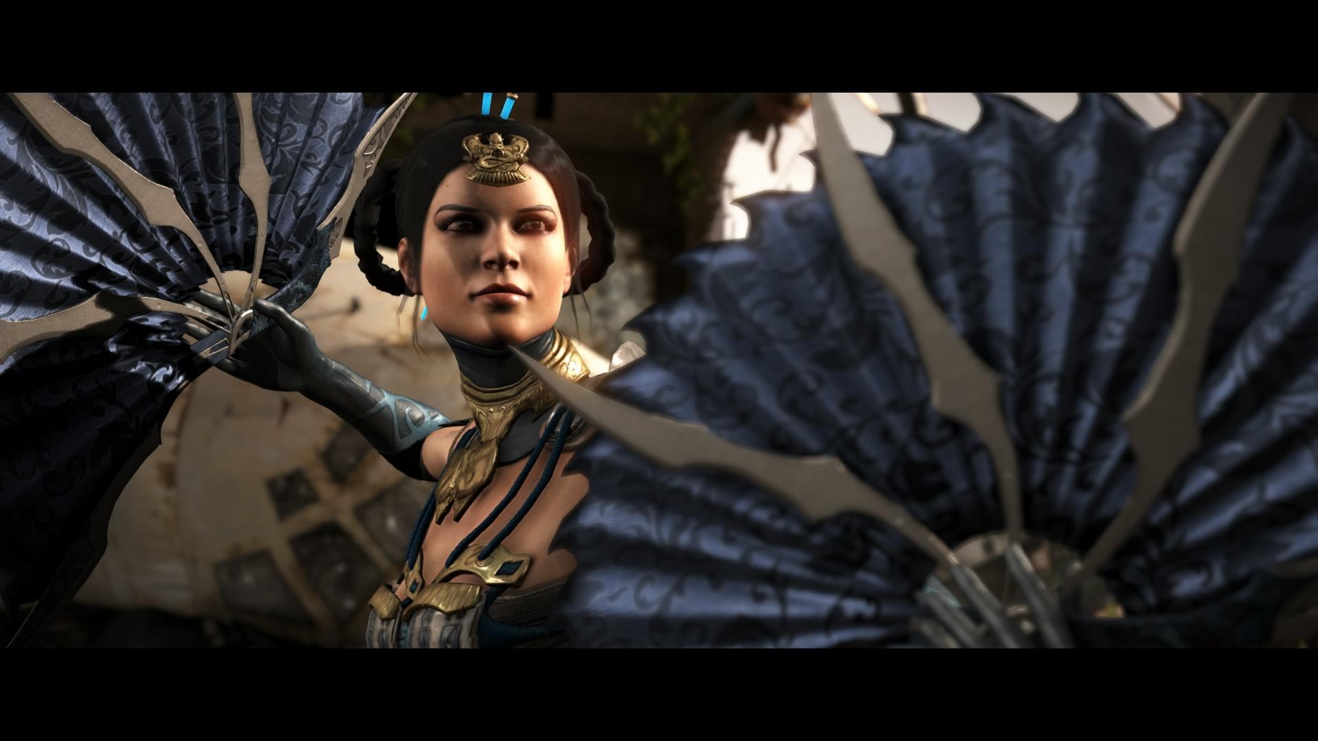 Mortal Kombat X Kitana Intro Pose By Kabukiart157 On Deviantart