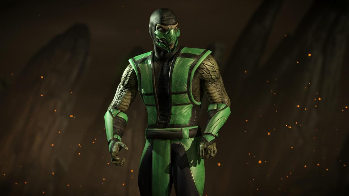 Reptile mortal kombat costume - photo#4