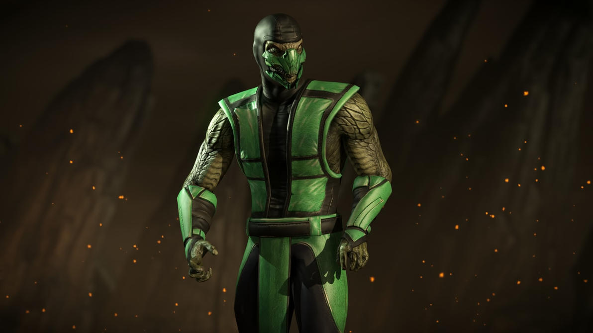 mortal kombat x:reptile klassic costumekabukiart157 on deviantart