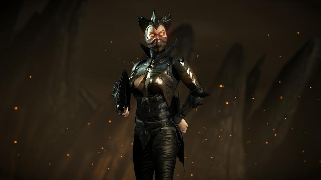 Mortal Kombat X Kitana Dark empress costume by Kabukiart157