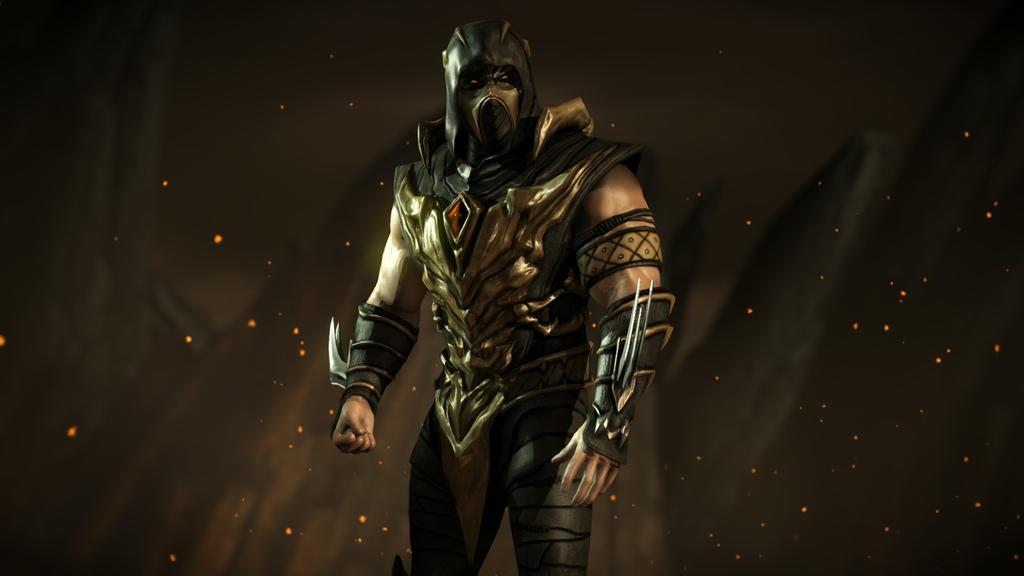 Scorpion Mortal Kombat Injustice