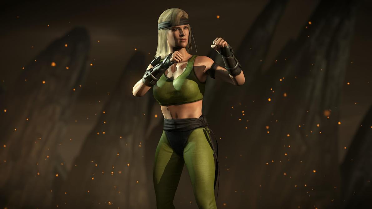 Mortal Kombat X:Sonya Blade Klassic - 53.1KB