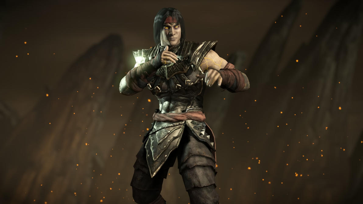 Mortal Kombat XLiu Kang Revenant By Kabukiart157