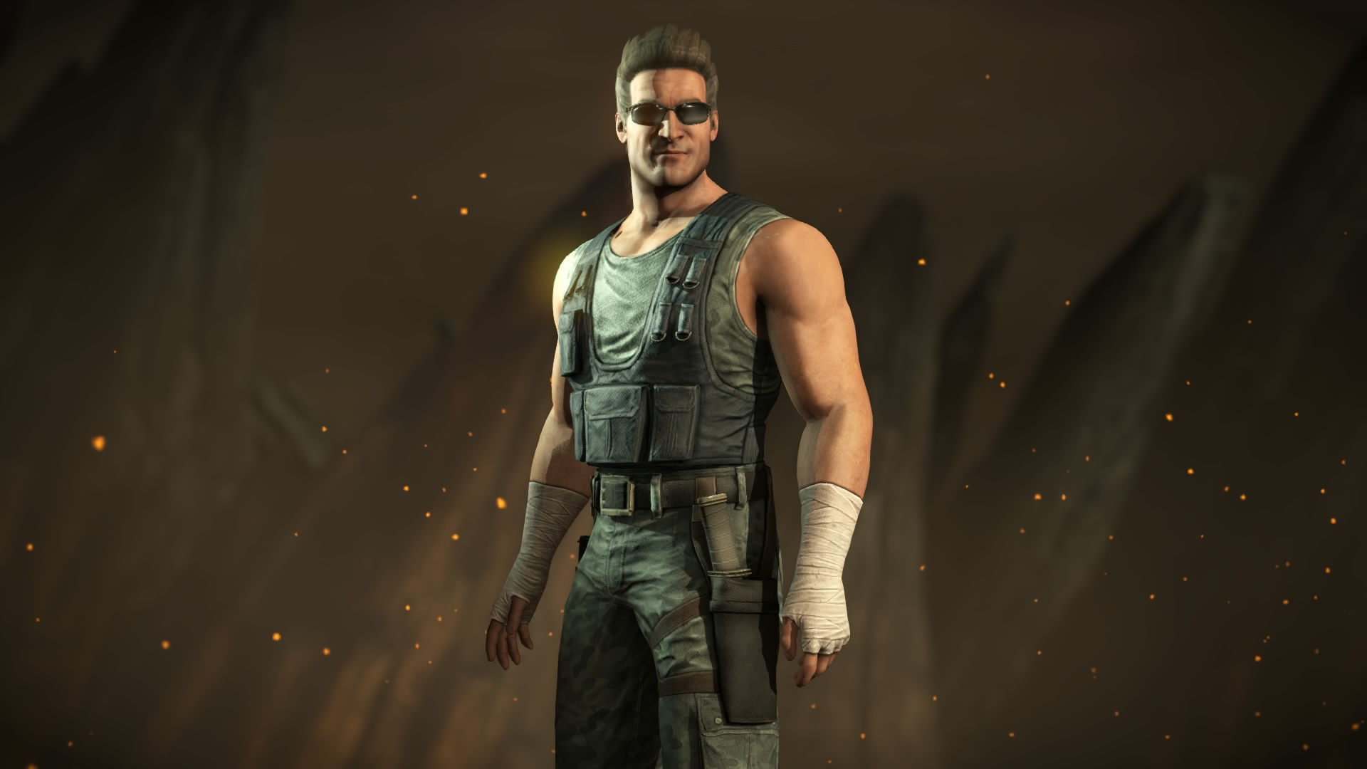 Mortal Kombat X:Johnny Cage Commando Costume By