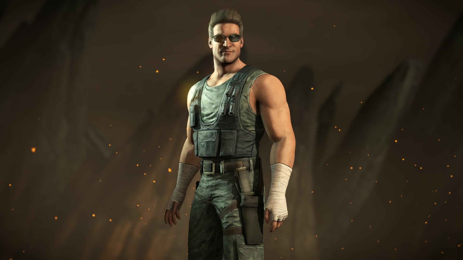 Mortal Kombat X:Johnny Cage Commando Costume By