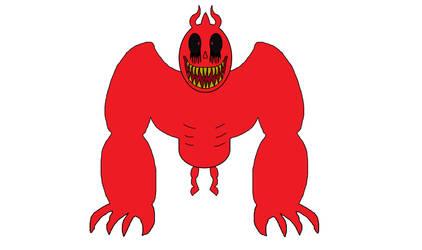 Beast Red Goopy Brilly Or Joshua by brillyskchakan1cv2