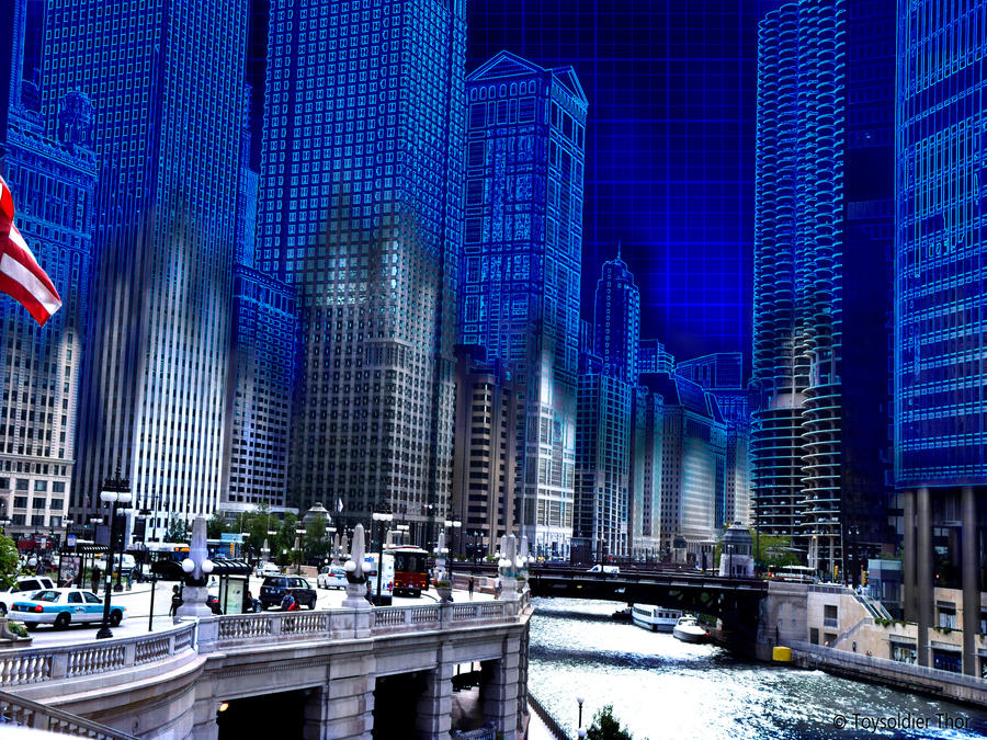 Chicago Blueprint By ToysoldierThor