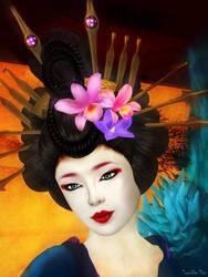 Geisha Girl by ToysoldierThor
