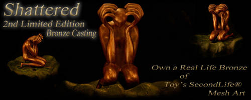 Bronze Casting of SHATTERED