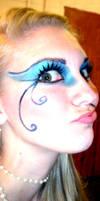 Mermaid makeup by Kirry
