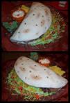 Soft Taco Cake