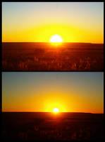 Sunrise Over Pueblo, CO by Ti-7-4Raven
