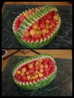 Watermelon Basket (#1) by Ti-7-4Raven