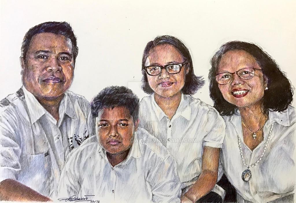 A Friend's Family Portrait by dtomasowa