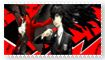 Persona 5 stamp by SuppressedFeelings