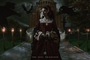 The Evil Priestess.jpg  by B-I-Blodgett