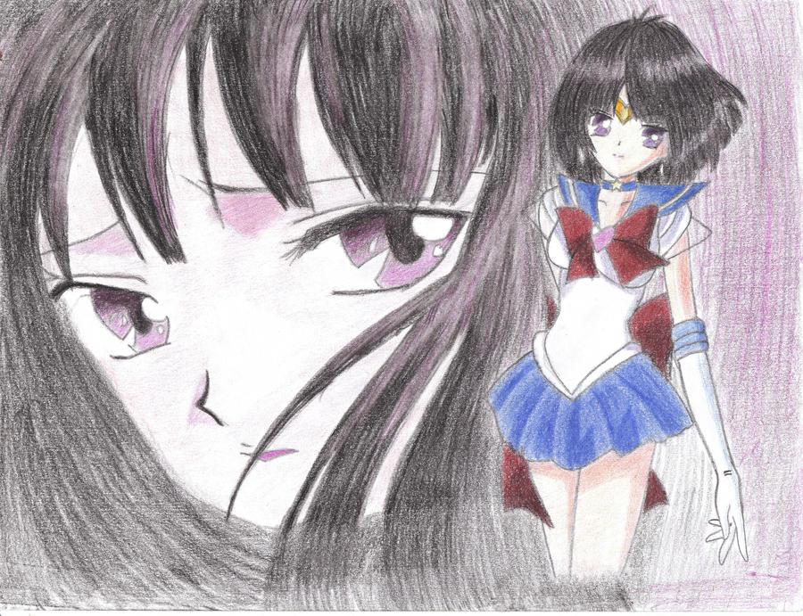Sailor Saturn Drawing By Deviantdave777 On Deviantart