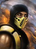 Scorpion_Mortal Kombat 11 by AndreiKolosov